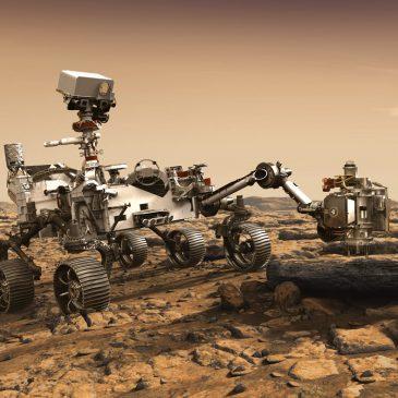 A Mars hangjainak felfedezése DPA-val